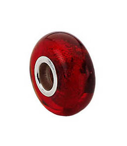Kera™ Red Murano Glass Bead