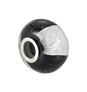 Kera™ Silver Finestra Murano Glass Bead