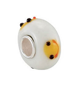 Kera™ Smiley Face Glass Bead