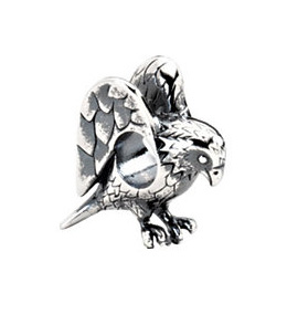 Kera™ Sterling Silver Eagle Bead