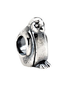 Kera™ Sterling Silver Penguin Bead