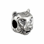 Kera™ Sterling Silver Tiger Bead