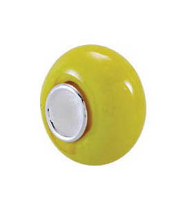 Kera™ Yellow Glass Bead