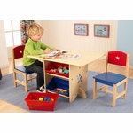 Kids Star Table and 2 Chairs Set
