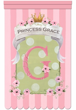 La Petite Princess Wall Hanging Personalized by Dish and Spoon