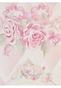 Lady Catherine's Roses Chiffon Petal Wall Hanging Personalized by Dish and Spoon - click to Enlarge
