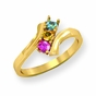 """Lineage"" Family Birthstone Ring - click to Enlarge"