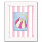 Little Lady - Purse Framed Canvas Wall Art