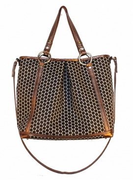 Lyndsey Bronzo Diaper Bag by Mia Bossi  (SALE)