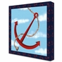Maritime Anchor Stretched Art by Dish and Spoon - click to Enlarge