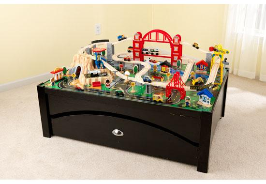 & Metropolis Train Table and Set | Bliss Living