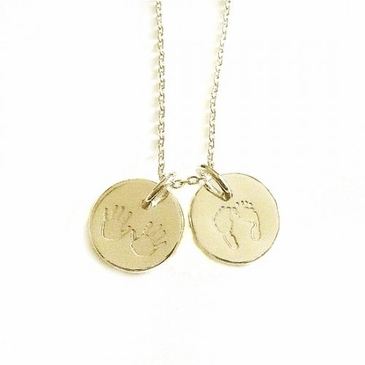 "Mini ""Julian & Co."" Necklace - 18k Gold"