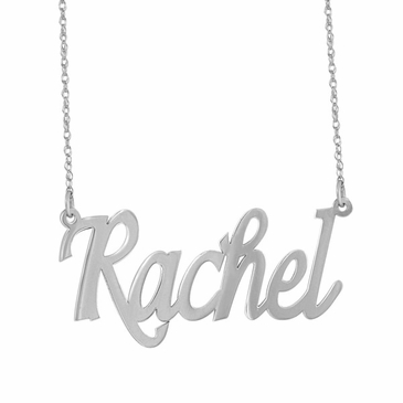 Modern Name Necklace