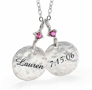 Mom's Family Charm Necklace