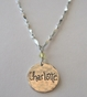 Mom's Name Charm Necklace - With One Charm - click to Enlarge