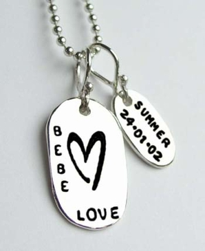 Mommy Tag Necklace