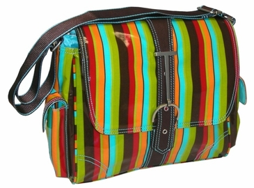 Multitasker Small Monkey Stripes Hadaki Handbag