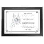 My Daddy's Hand Plaque