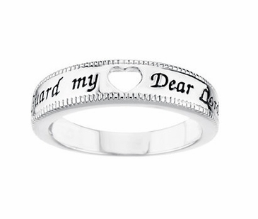 """My Heart is His"" Ring"