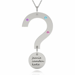 Mystery Name Charm Necklace