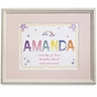 Name Meaning Artwork in Wooden Frame - click to Enlarge