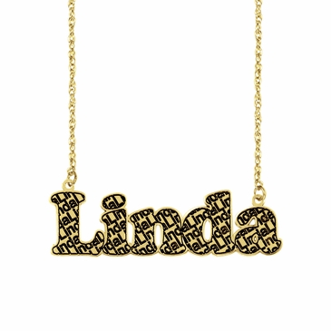 Name Pattern Necklace