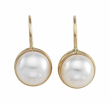 Natural Pearl Danglers