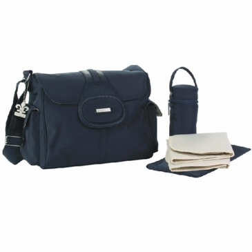 Navy Elite Diaper Bag by Kalencom
