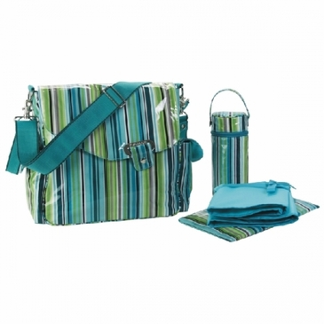 O' Stripes Ozz Coated Diaper Bag by Kalencom