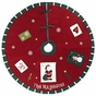 Old-Fashioned Patchwork Christmas Tree Skirt - Personalized - click to Enlarge