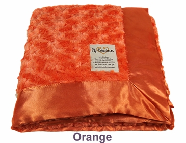 Orange Snail Blanket by My Blankee
