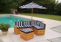Outdoor Sectional - click to Enlarge