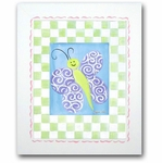 Paddy Frog - Butterfly Framed Canvas Wall Art