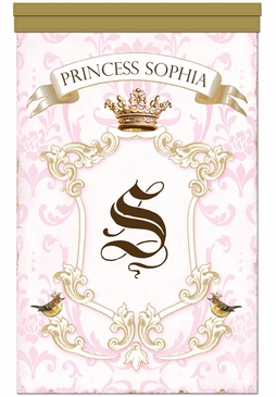 Parisian Princess Wall Hanging Personalized by Dish and Spoon