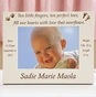 """Perfect 10"" Personalized Baby Photo Frame - click to Enlarge"