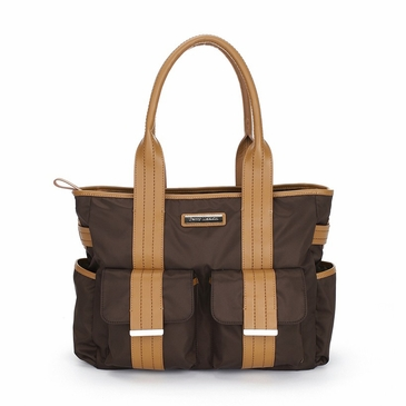 Perry Mackin Zoey Brown Diaper Bag