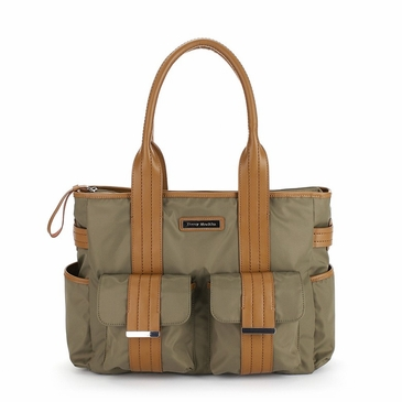 Perry Mackin Zoey Olive Diaper Bag