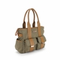 Perry Mackin Zoey Olive Diaper Bag - click to Enlarge