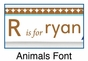 Personalized Animals Boy Picture Frame - click to Enlarge