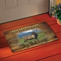 Personalized Big Game Doormat - click to Enlarge