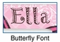 Personalized Butterfly Picture Frame - click to Enlarge