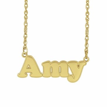Personalized Child's Name Necklace
