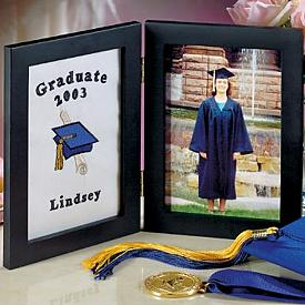 Personalized Embroidered Grad Picture Frame