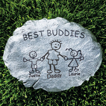 Personalized Family Stepping Stone