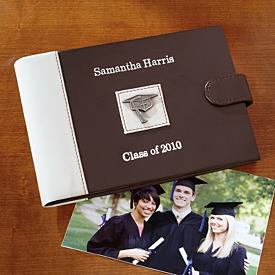 Personalized Faux Leather Photo Album