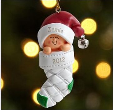 Personalized Kids Ornament