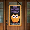 Personalized Owl Canvas Banner