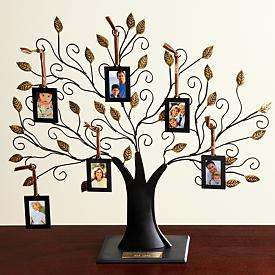 Personalized Photo Family Tree Desk Decoration