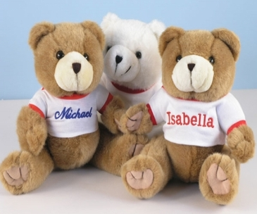 Personalized Plush Teddy Bears