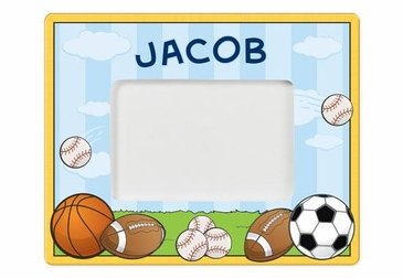 Personalized Sports Picture Frame